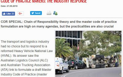 Code Of Practice Makers: The Industry response